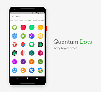 Quantum Dots - Icon Pack - náhled