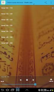Tafsir Aal Imran (v102 - end) - náhled
