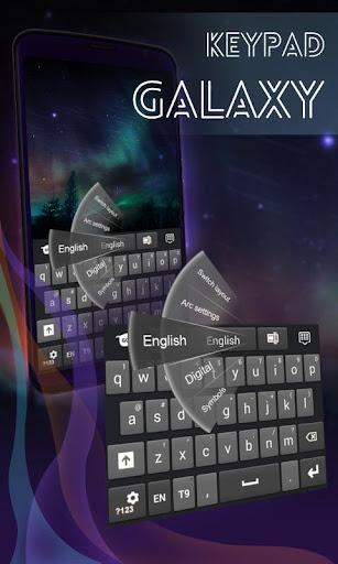 銀河注2のキーボード