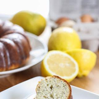 Lemon Poppy Seed Yogurt Cake
