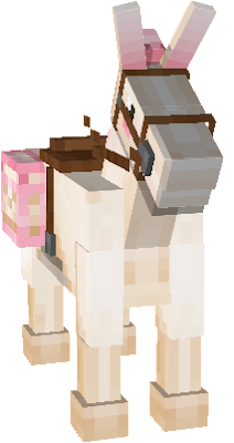 donkey texture belongs to high on sugar resource pack.