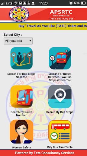 APSRTC City Bus Live Track  screenshots 2