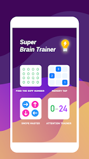 Super Brain Trainer - Fun & Easy Brain Game Screenshot
