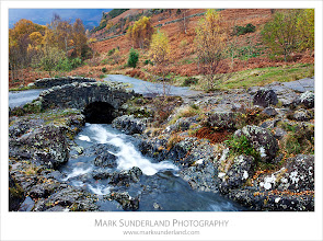 Photo: Ashness Bridge in Autumn  Here's another from The Lakes. I gather Ashness Bridge is one of those very famous Lakes views that everyone has to go and look at and photograph, but I'd never been before. Despite going on a damp day midweek I still had to queue to get my tripod set up...  Canon EOS 5D MkII,EF17-40mm f/4L USM at 37mm, ISO 50, 0.5s at f22