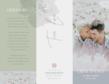 Gray & Dan - Wedding Template