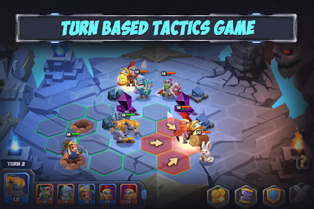 Tactical Monsters Rumble Arena MOD APK [High Attack + Defense] 1