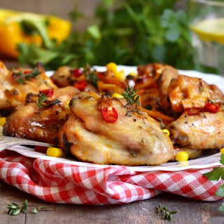 Mouth-watering Baked Chicken Wings.