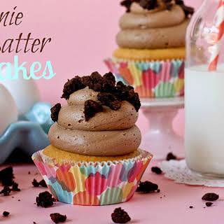 Brownie Batter Cupcakes.