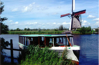 Photo: On the way back to our ship, we stopped at Kinderdijk and took a short boat trip on a canal.