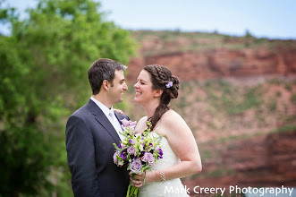 Photo: From Grace & Scott's farm wedding at McC Ranch in Masonville, CO.