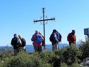 Photo: al cim del Puig de l'Àliga