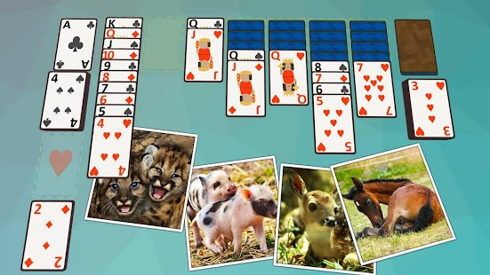 Solitaire Baby Animals- screenshot thumbnail