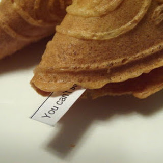 Home Made Fortune Cookies