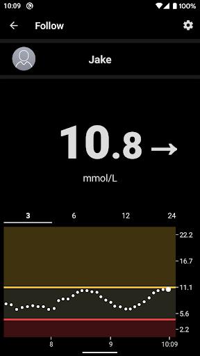 Dexcom Follow mmol/L DXCM1 4.1.0 screenshots 2