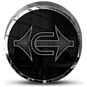 Black Carbon Icon Pack icon
