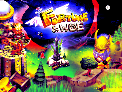 Fortune and Woe Fantasy strategy city builder game - náhled