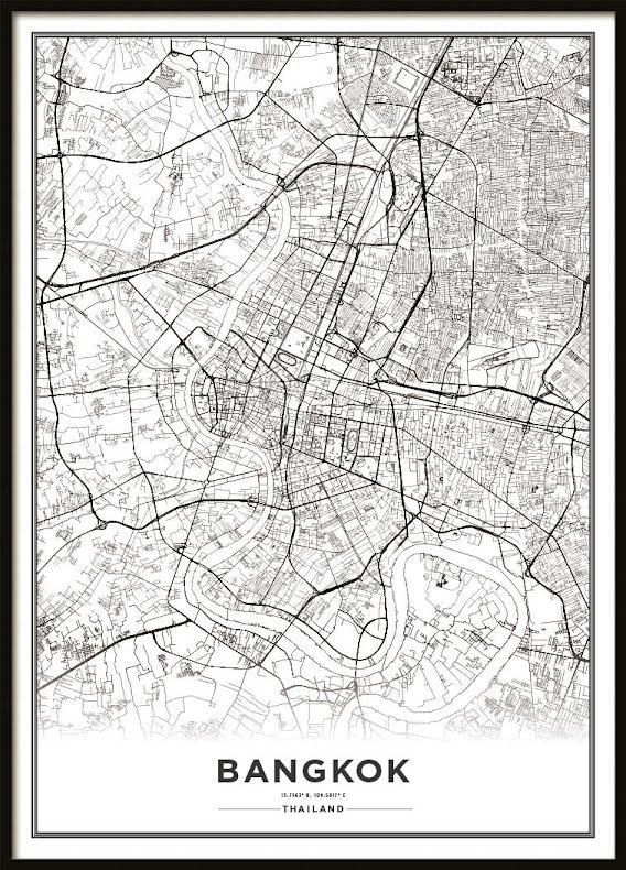 Karta Poster, Bangkok