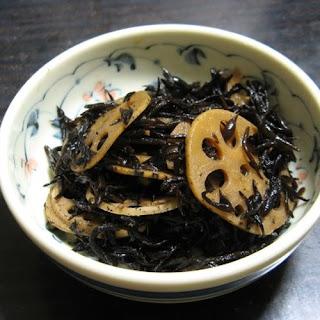 Hijiki and Lotus Root