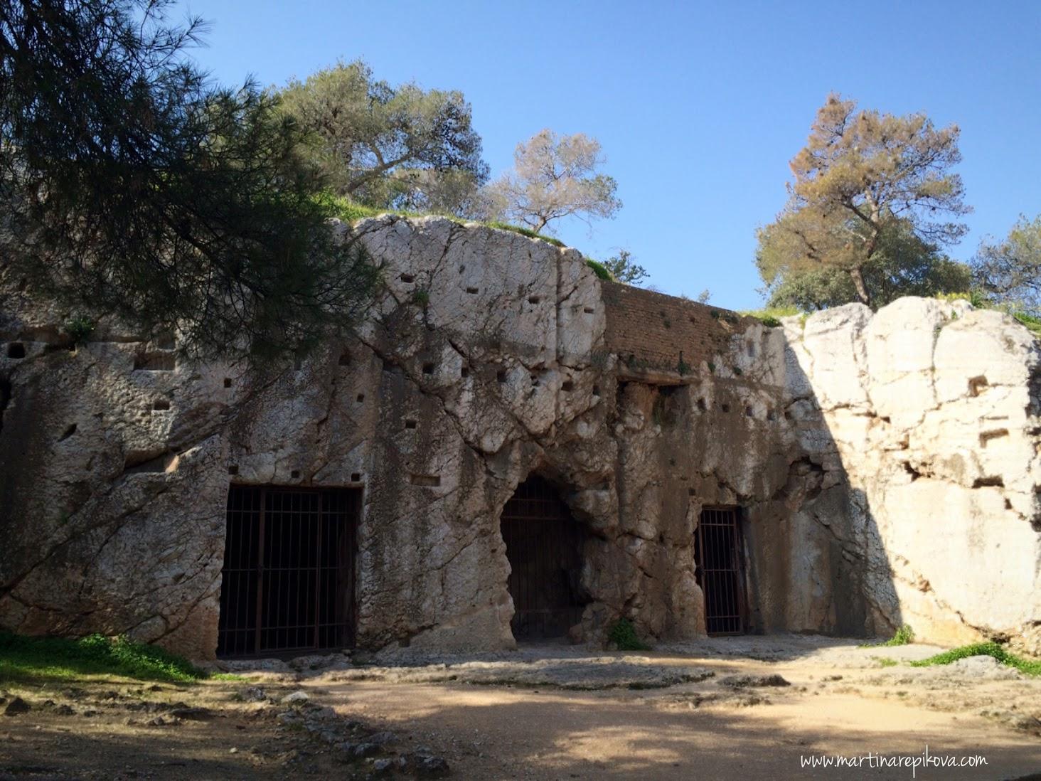Socrates' prison, Athens, Greece