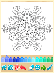 Mandala Coloring Pages APK