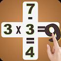 Math games - Brain teaser - IQ booster icon