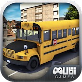 School Bus Car Simulator 3D