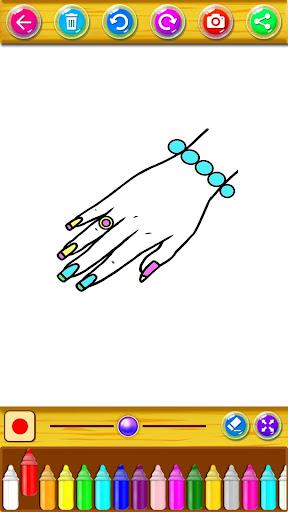 Coloring Fashion Nail Salon 1.0.2 screenshots 4