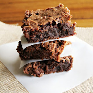 Gluten Free Homemade Brownies.