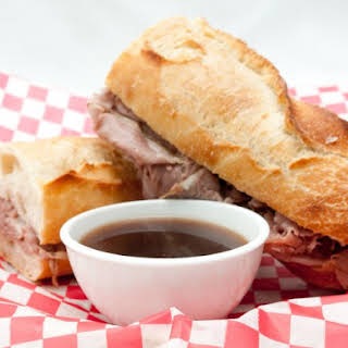 Easy Slow Cooker French Dip.