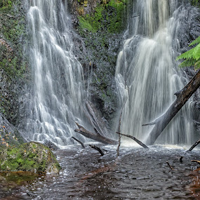Hogarth falls by Cora Lea - Landscapes Waterscapes (  )