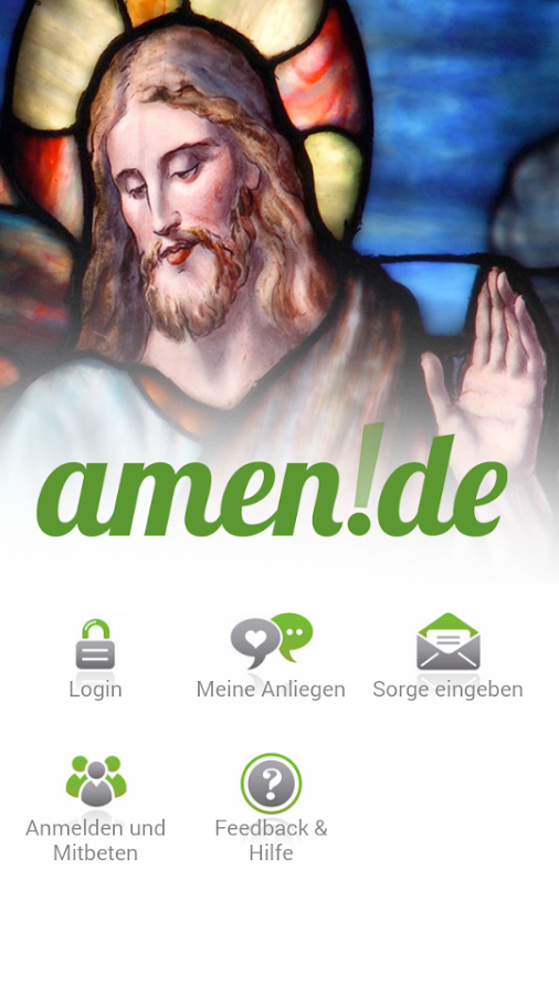 amen.de- screenshot