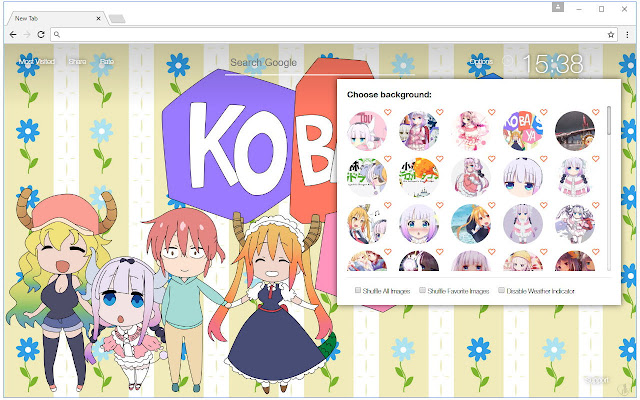 kanna kamui wallpaper hd new tab themes