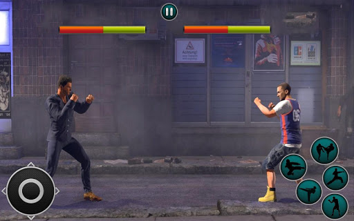 Code Triche Kung Fu Karate -Street fighter APK MOD screenshots 1