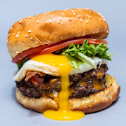 Egg Burger Combo