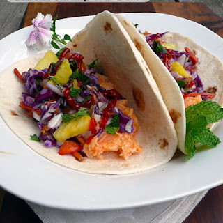 Hawaiian Shrimp Street Tacos