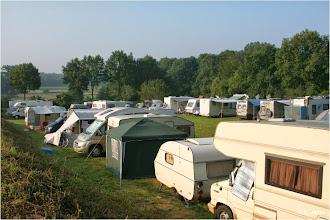 Photo: Der Campingplatz am frühen Morgen