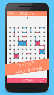 Dots and Boxes game 4