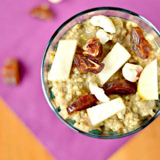 Caramel Apple Millet Porridge