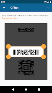 QRbot: QR & barcode reader (MOD, Unlocked) v2.6.1 5