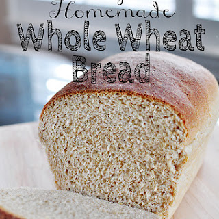 The Very Best Homemade Whole Wheat Bread