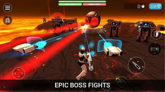 CyberSphere: SciFi Shooter Screenshot