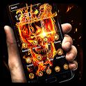 Fire Skull Theme icon