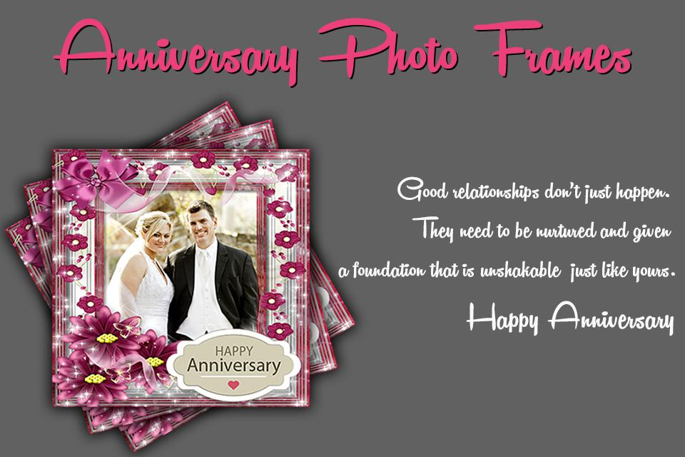 anniversary photo frame screenshot