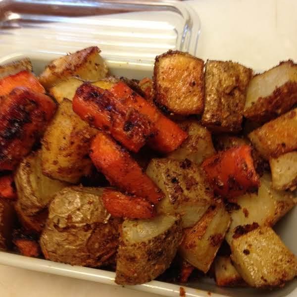Skinny Oven Roasted Veggies Recipe
