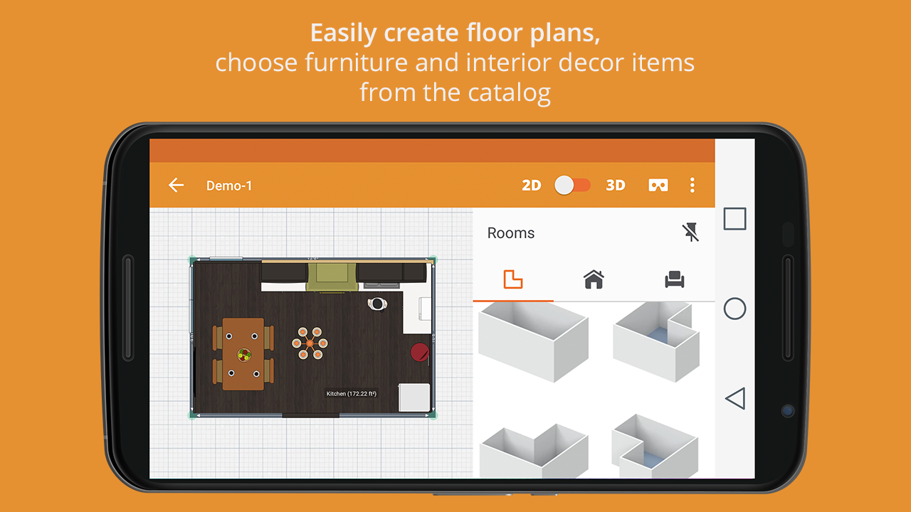 Kitchen design android apps on google play for Make your own blueprints app