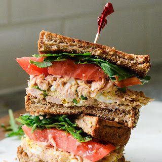 Yellowfin Tuna Salad Sandwich.