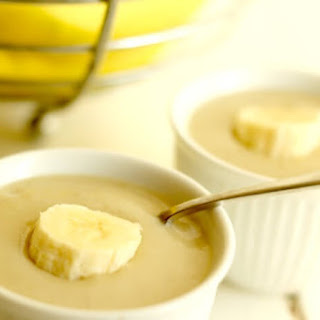 Dairy Free Banana Pudding.