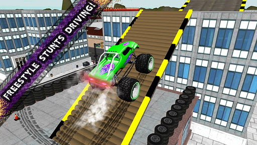 4x4 Monster Truck Roof Stunts
