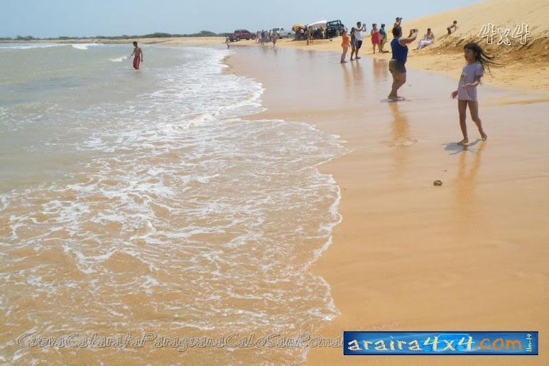 Playa Medanos Blancos F260, Estado Falcon, Venezuela