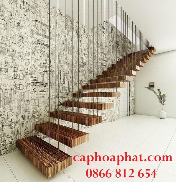 Cầu thang dây cáp là gì?